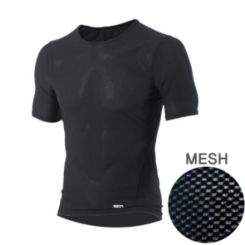 Mcn [MTS-KMESH]K-매쉬 반팔 티셔츠 블랙