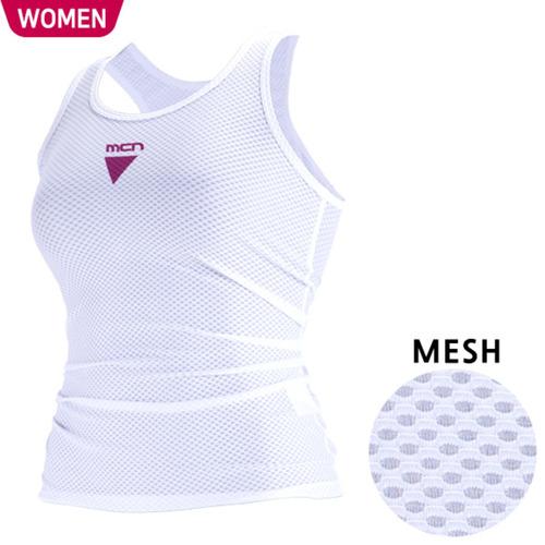 Mcn [MTK-KMESH-PIPE]여성용 민소매 이너웨어 파이프
