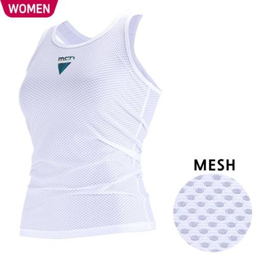 Mcn [MTK-KMESH-TROPICAL]여성용 민소매 이너웨어 트로피칼