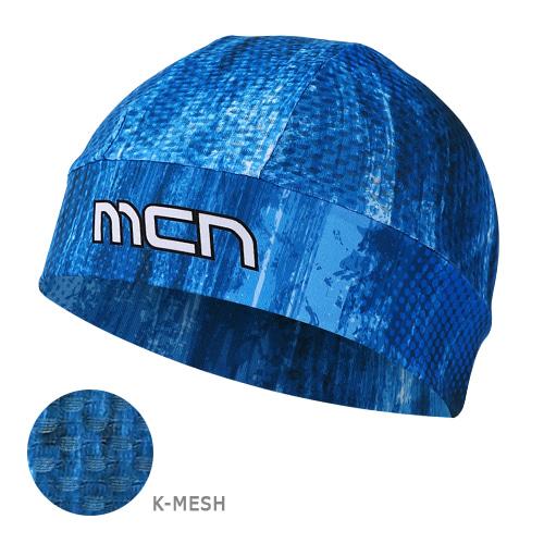 Mcn [SKULL CAP KMESH BLUE SHOWER]K-매쉬 스컬캡-블루샤워