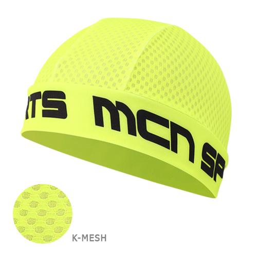 Mcn [SKULL CAP KMESH F-GREEN]K-매쉬 스컬캡-형광 그린