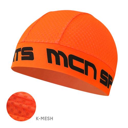 Mcn [SKULL CAP KMESH F-ORANGE]K-매쉬 스컬캡-형광 오렌지