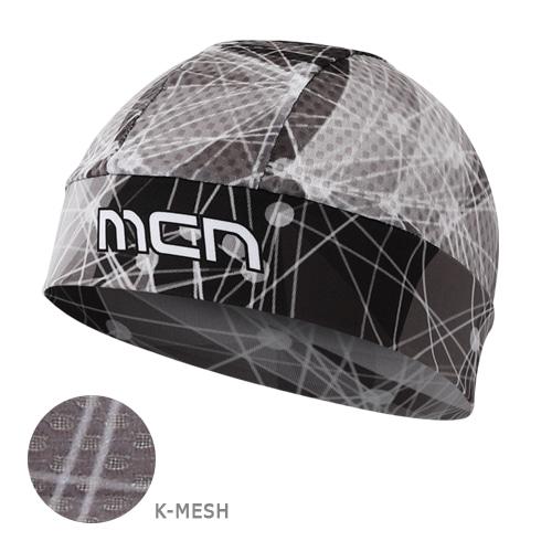 Mcn [SKULL CAP KMESH GRAY]K-매쉬 스컬캡-그레이