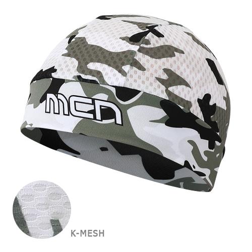 Mcn [SKULL CAP KMESH CAMO WHITE]K-매쉬 스컬캡-카모 화이트