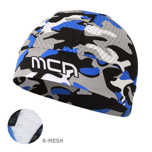 Mcn [SKULL CAP K-MESH CAMO BLUE]K-매쉬 스컬캡-카모 블루