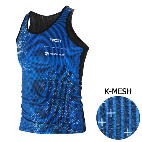 Mcn [MTK-KMESH-SPARKLE]스파클 냉감 민소매 이너웨어