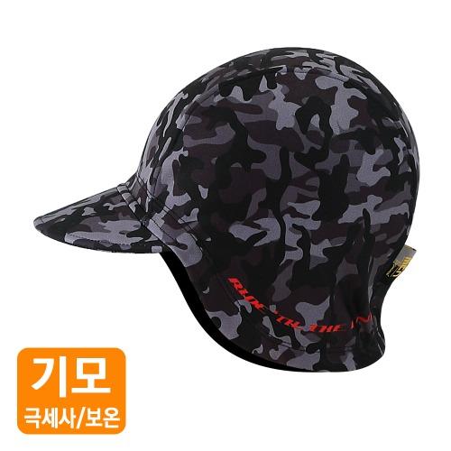Mcn [WARM CAP-BLACK CAMO]방한 사이클링캡-블랙카모