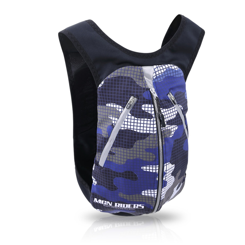 Mcn [MCN FIT BAG-BLUE CAMOUFLAGE]블루 카모플라주 백팩/가방