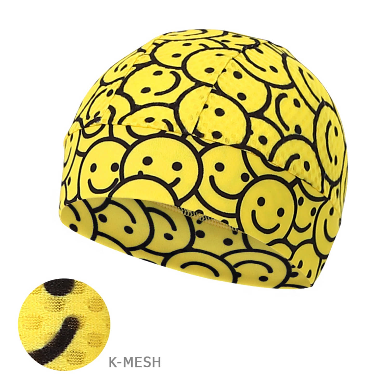 Mcn [Skull Cap K-MESH-SMILEY]스마일리 K-매쉬 스컬캡