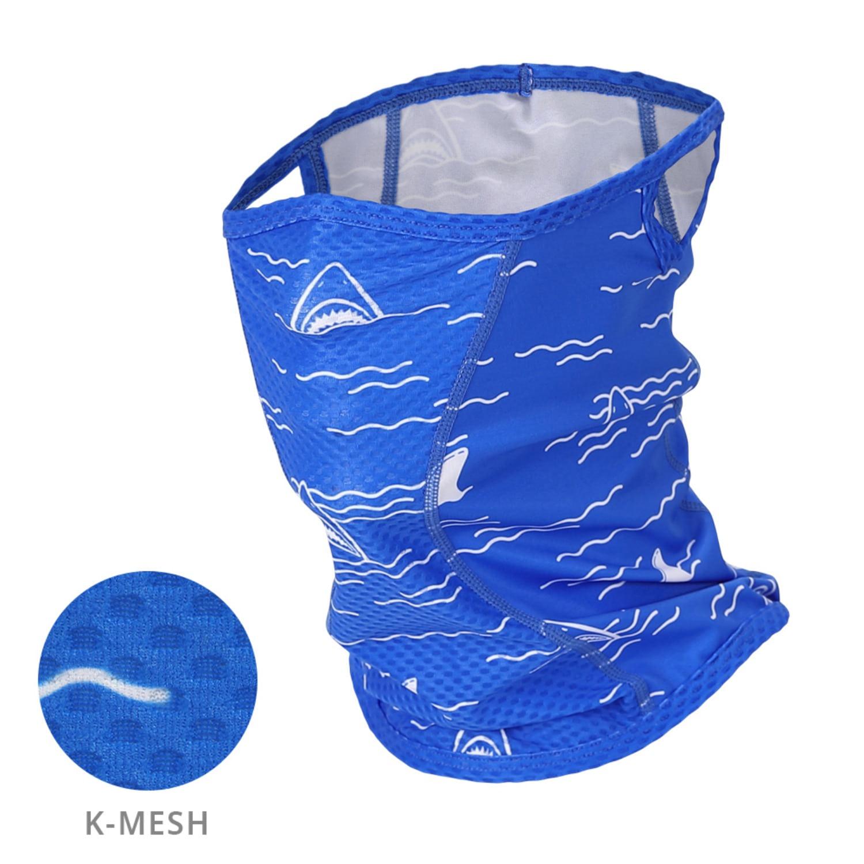 Mcn [MASK SR1-COBALT BLUE JAWS]코발트 블루 죠스 K-매쉬 마스크