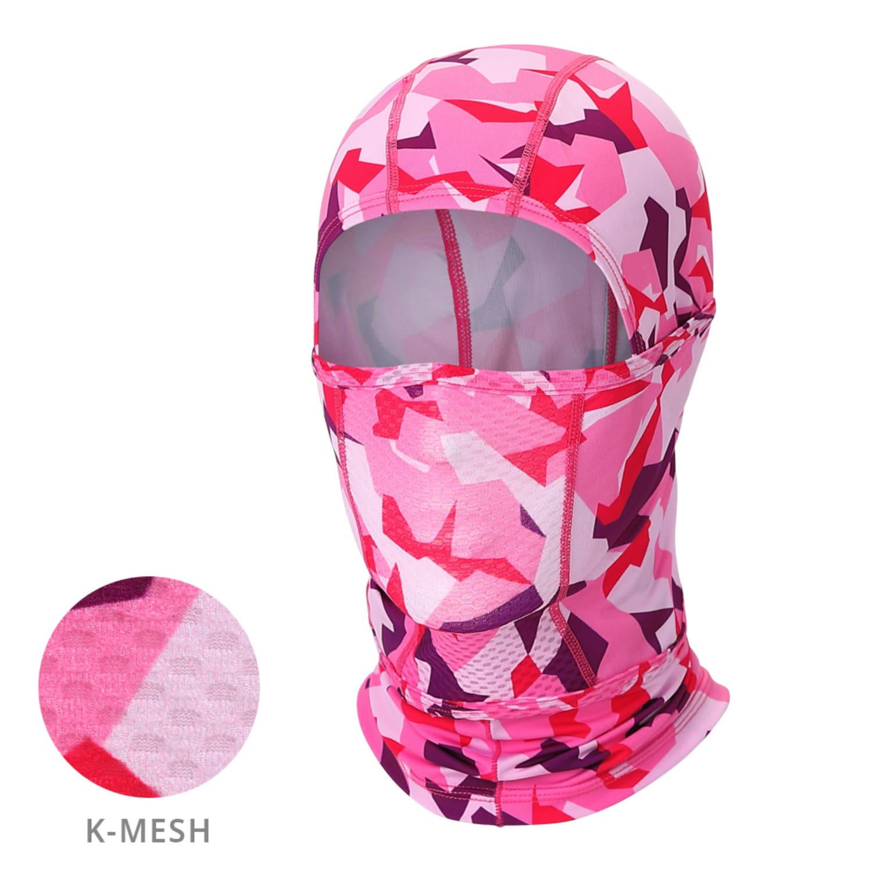 Mcn [MH-KMESH PINK CAMO]핑크 카모 K-매쉬 헤드마스크