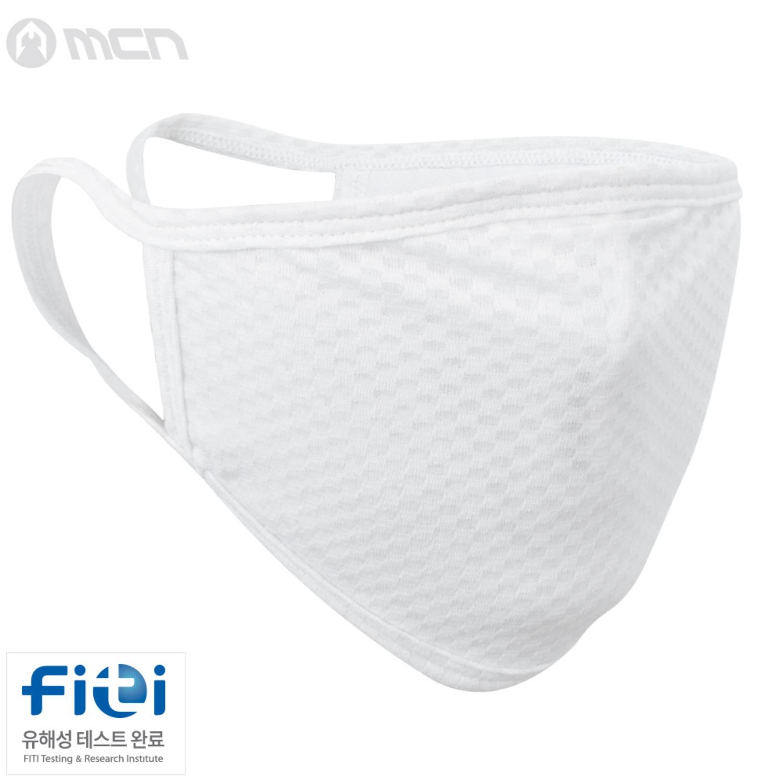 Mcn [NANO MASK-FLAT WHITE]나노 플랫 화이트 마스크